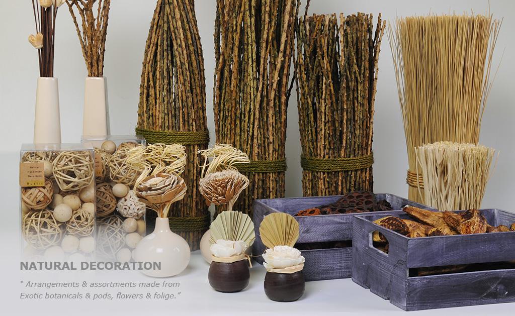 Deco de trend natural aromatic floral decoration - Deco toilettes nature ...