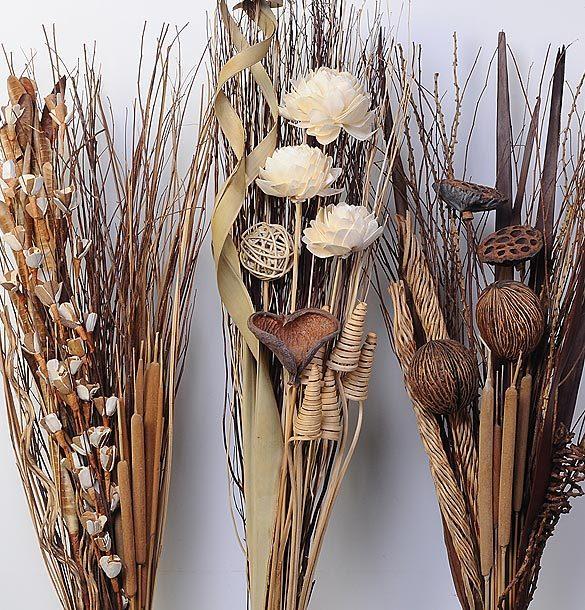 Ideas Para La Decoracion Con Flores Y Hojas Secas Audaces Ideas - Jarrones-con-flores-secas